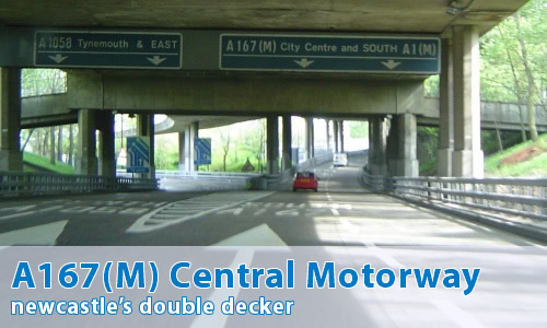 A167(M) Central Motorway