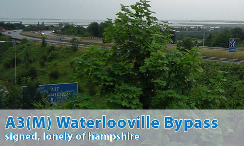 A3(M) Waterlooville Bypass