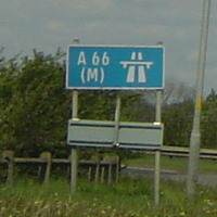 A66(M) Darlington Spur