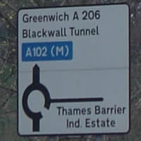 A102(M) Blackwall Tunnel Southern Approach