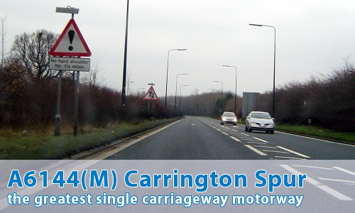 A6144(M) Carrington Spur