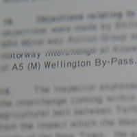 A5(M) Wellington Bypass