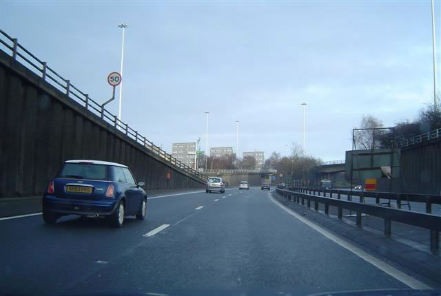 The Glasgow Inner Ring Road