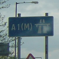 A1(M) London - Tyneside Motorway